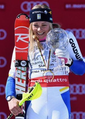 Frida Hansdotter - FIS Alpine Skiing World Cup 2016 in St. Moritz
