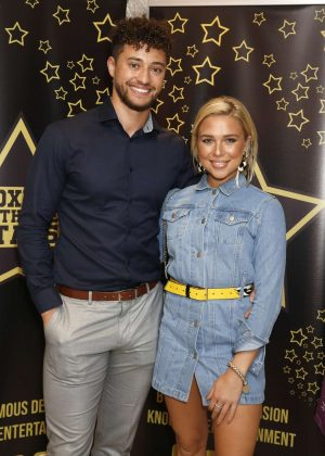 Gabby Allen - Boxing With The Stars Charity Event in London