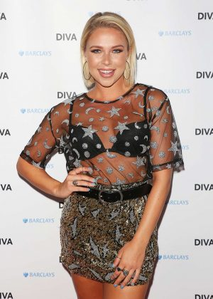 Gabby Allen - DIVA Magazine Awards in London