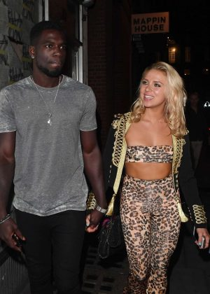 Gabby Allen - 'Love Island' Contestants hit Libertine nightclub in London