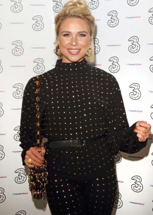 Gabby Allen - Portr8's Three Mobiles VIP Gallery Launch in London