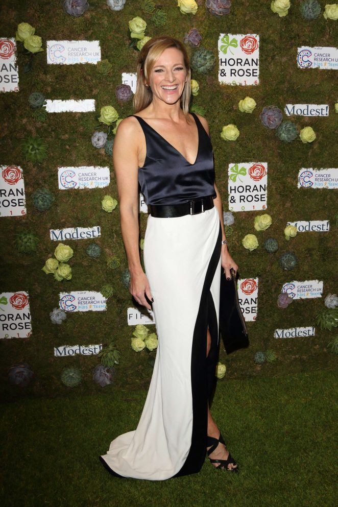Gabby Logan - Horan and Rose Charity Gala Dinner in Watford