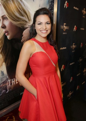 Gabriela Lopez - 'The 5th Wave' Premiere in Los Angeles