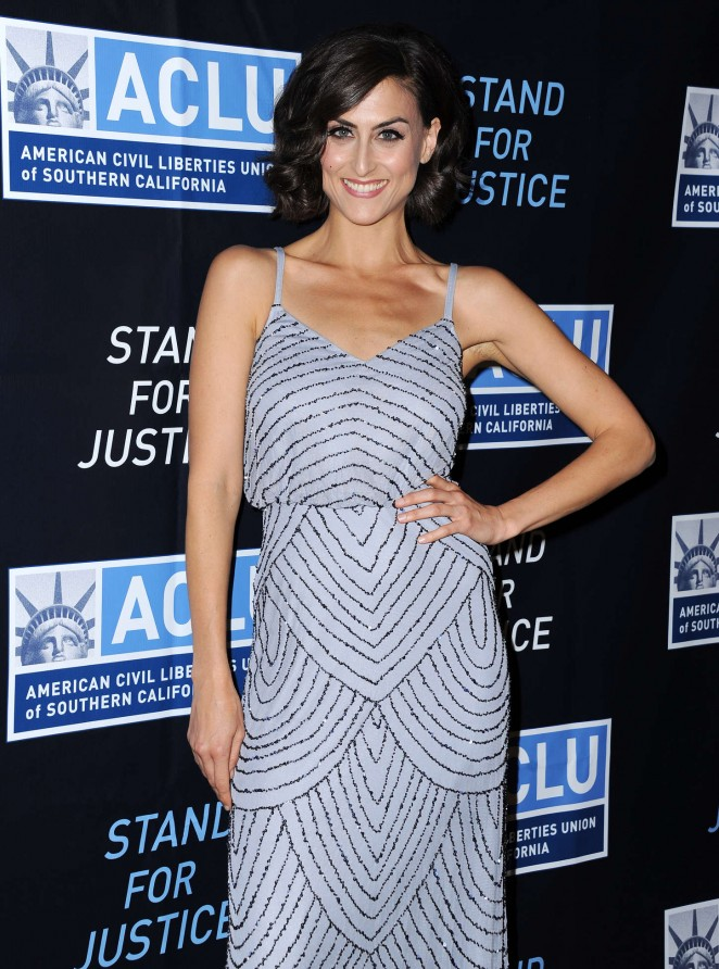 Gabriele Valensi - ACLU SoCal Hosts 2015 Bill Of Rights Dinner in Beverly Hills