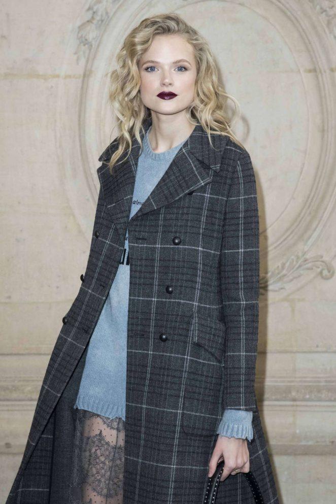 Gabriella Wilde - Christian Dior Fashion Show 2018 in Paris