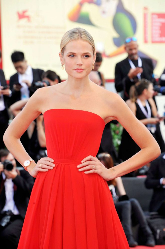 Gabriella Wilde – 'First Man' Premiere and Opening Ceremony at 2018 Venice International Film Festival in Venice