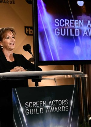 Gabrielle Carteris - 24th Screen Actors Guild Awards Nominations in LA