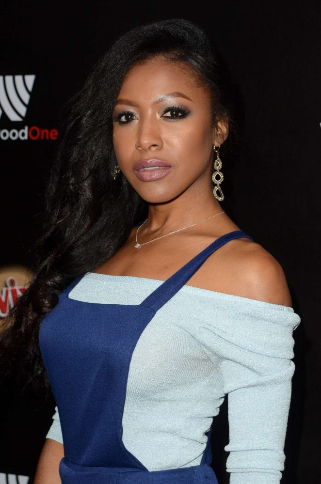 Gabrielle Dennis - Westwood One Backstage at The American Music Awards Day 2 in LA
