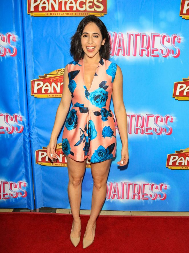 Gabrielle Ruiz - The National Tour of 'Waitress' in Hollywood