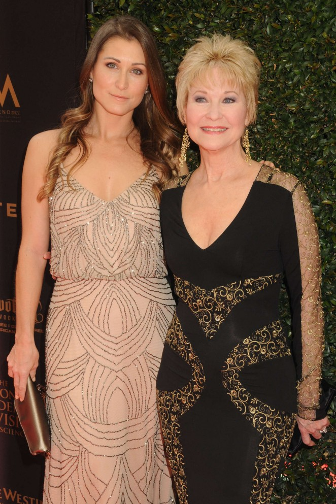 Gabrielle Stone and Dee Wallace - 2016 Daytime Emmy Awards in Los Angeles