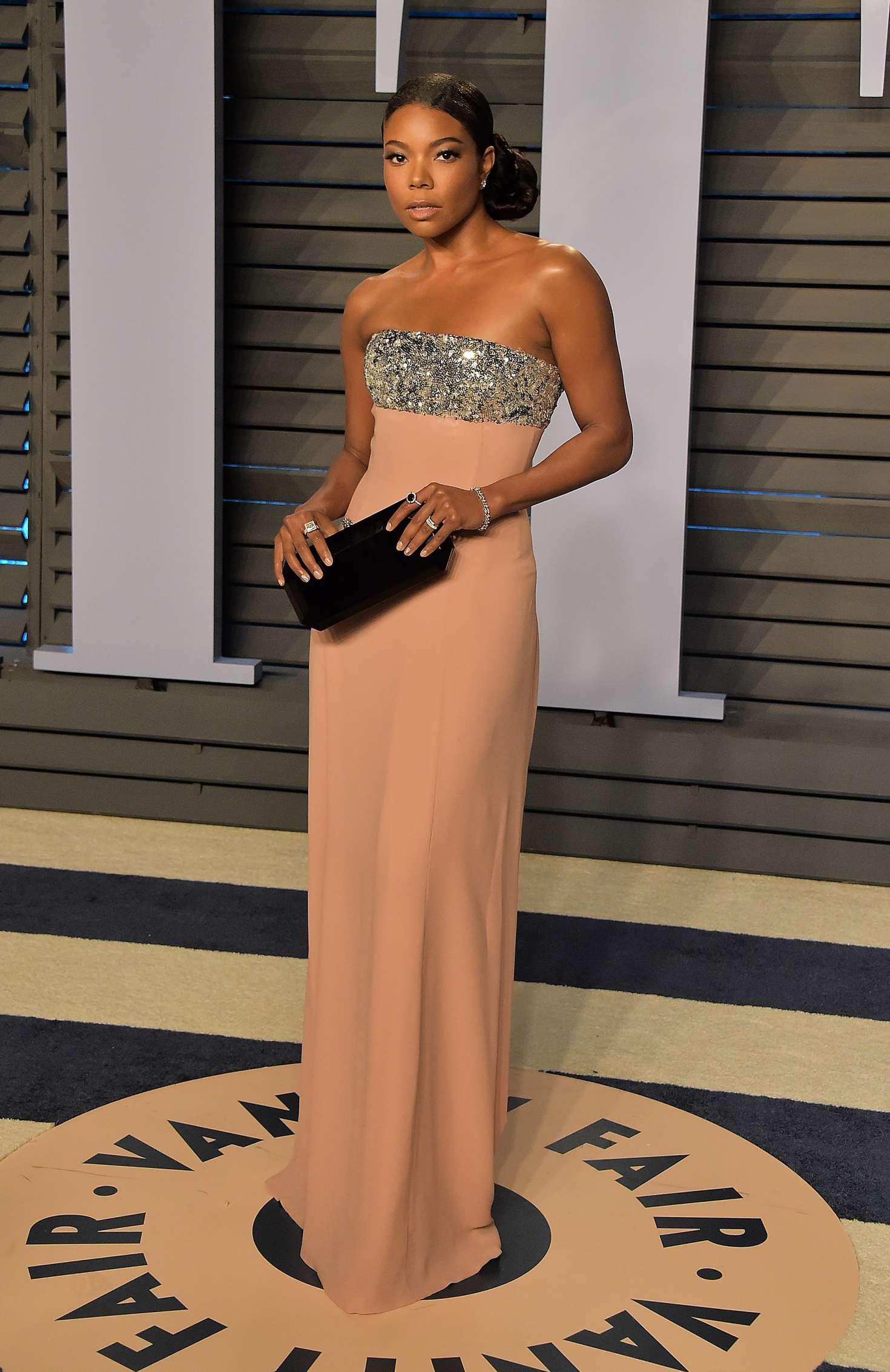 Gabrielle Union - 2018 Vanity Fair Oscar Party in Hollywood