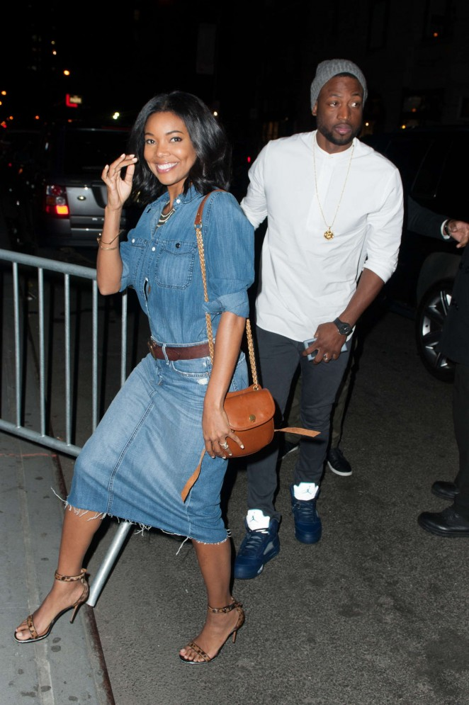 Gabrielle Union - 40/40 Nightclub in NYC