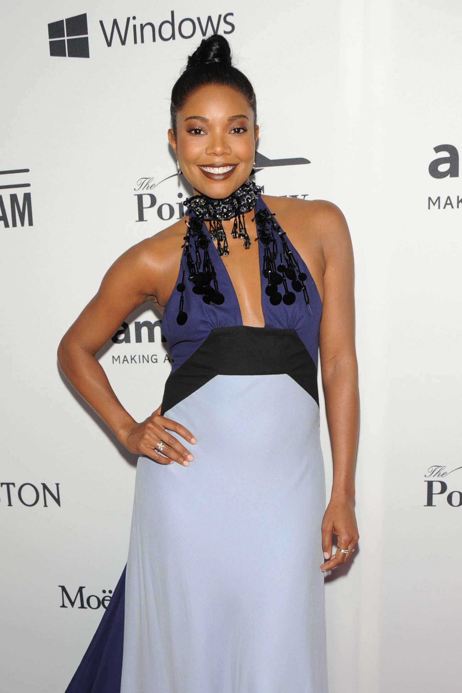 Gabrielle Union - 7th Annual amfAR Inspiration Gala in New York