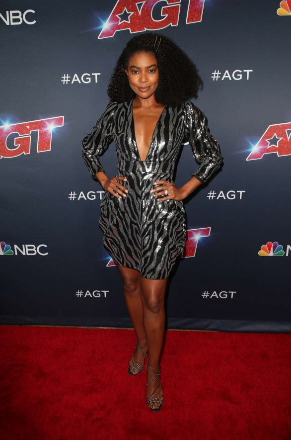 Gabrielle Union - America's Got Talent Season 14 Live Show at Dolby Theatre in Hollywood