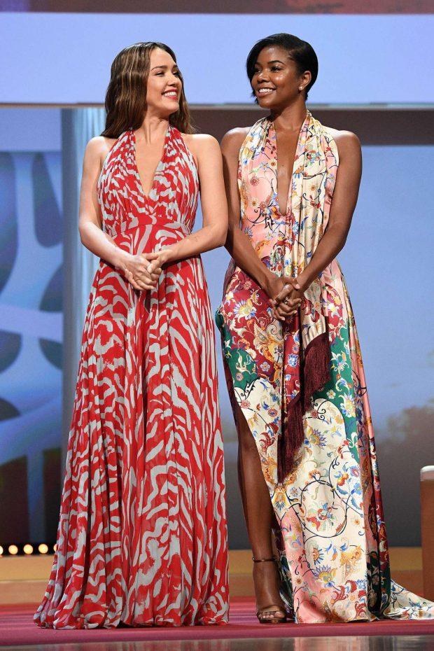 Gabrielle Union and Jessica Alba - 59th Monte Carlo TV Festival Opening Ceremony