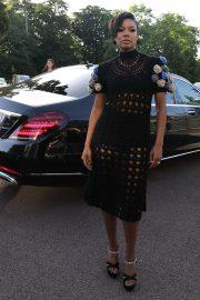 Gabrielle Union - Arriving at Miu Miu Resort 2020 Show in Paris