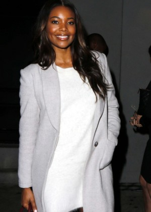 Gabrielle Union at Craig's Restaurant in West Hollywood