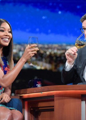 Gabrielle Union at 'The Late Show With Stephen Colbert' in New York