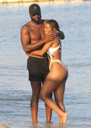 Gabrielle Union - Bikini Candids at vacation on the island of Mykonos