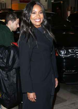 Gabrielle Union - Leaving AOL Building in New York City