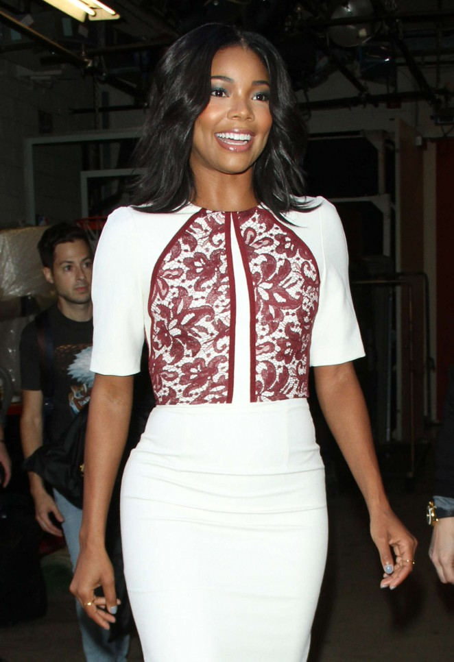 Gabrielle Union - 'Live! with Kelly and Michael' in NYC