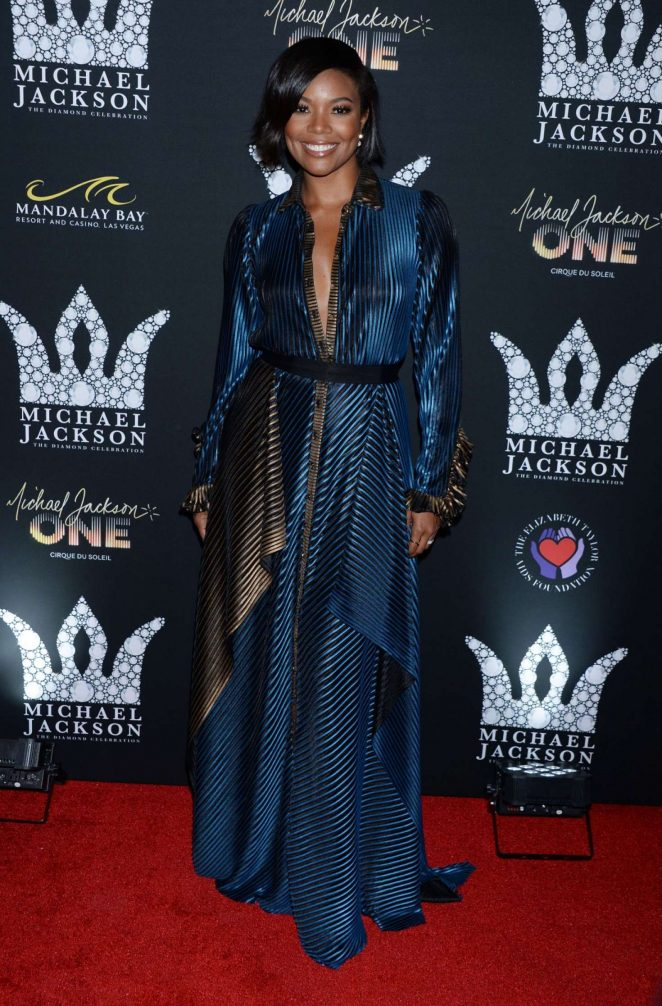 Gabrielle Union – Michael Jackson Diamond Birthday Celebration in Las Vegas