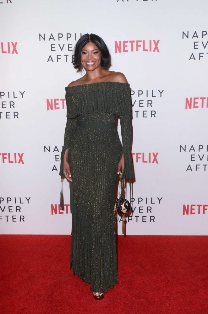 Gabrielle Union – 'Nappily Ever After' Screening in LA