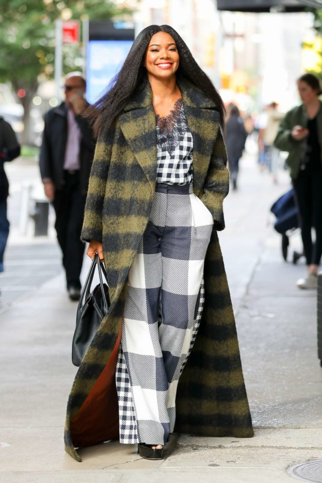 Gabrielle Union out and about in New York City