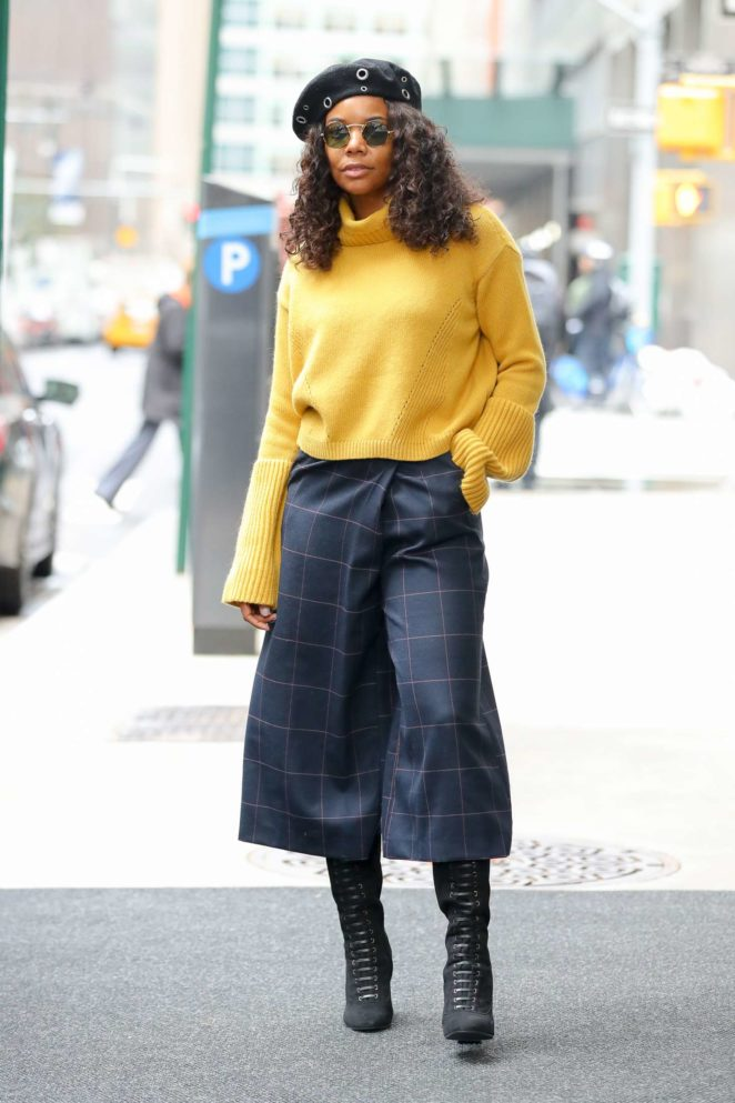 Gabrielle Union out in New York City
