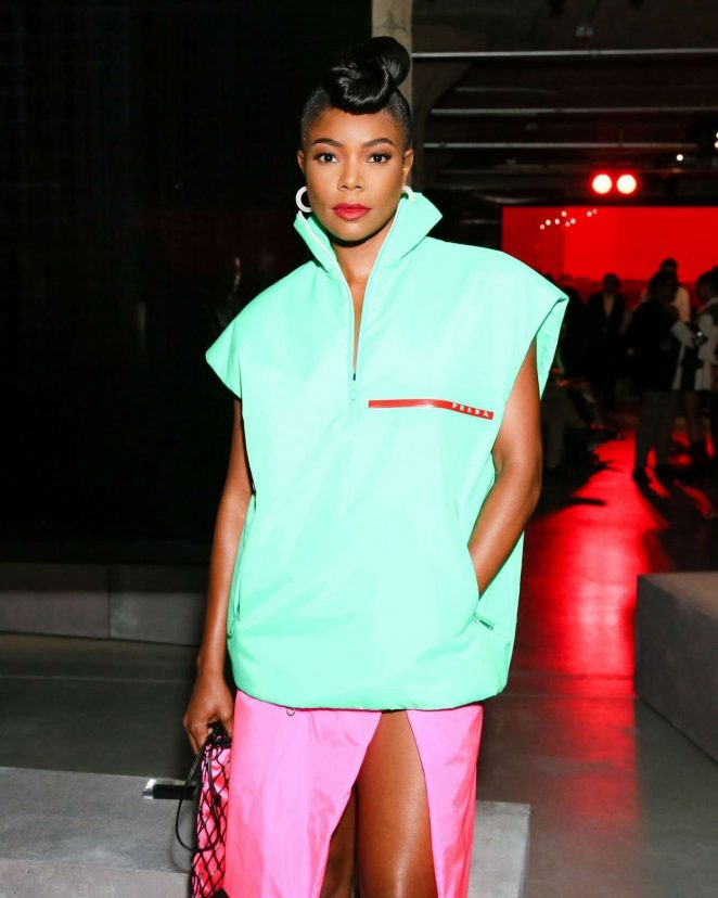 Gabrielle Union - Prada Resort 2019 Fashion Show in New York