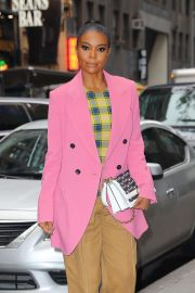Gabrielle Union - Promoting her brand in NYC