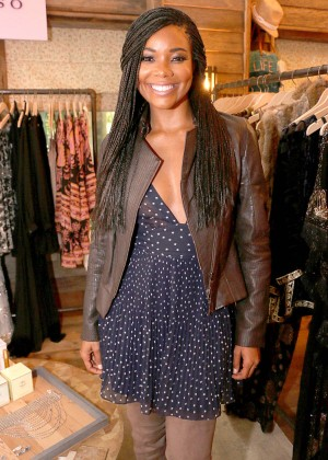 Gabrielle Union - Shopping at the Calypso St. Barth's Pop Up during Art Basel in Miami