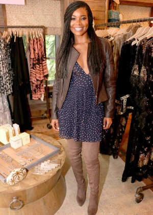 Gabrielle Union: Shopping at the Calypso St Barths Pop Up -04