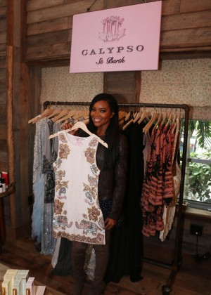 Gabrielle Union: Shopping at the Calypso St Barths Pop Up -06