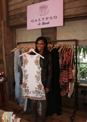 Gabrielle Union: Shopping at the Calypso St Barths Pop Up -08