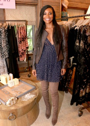 Gabrielle Union: Shopping at the Calypso St Barths Pop Up -11