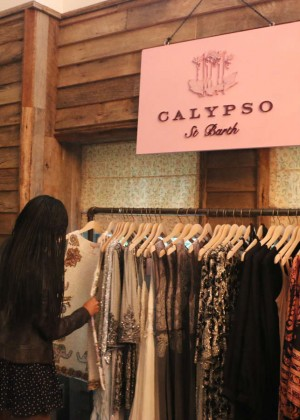 Gabrielle Union: Shopping at the Calypso St Barths Pop Up -14