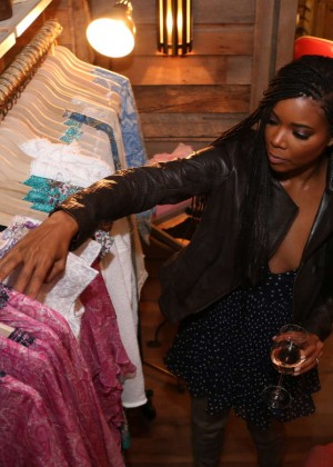 Gabrielle Union: Shopping at the Calypso St Barths Pop Up -17
