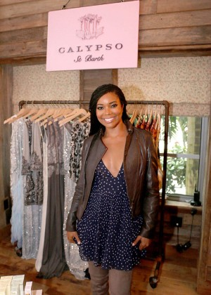 Gabrielle Union: Shopping at the Calypso St Barths Pop Up -20