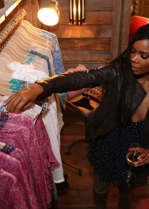Gabrielle Union: Shopping at the Calypso St Barths Pop Up -23