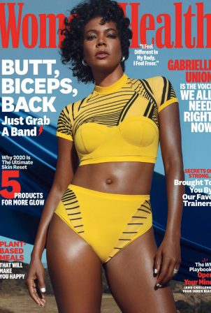 Gabrielle Union - Womens' Health Magazine - October 2020