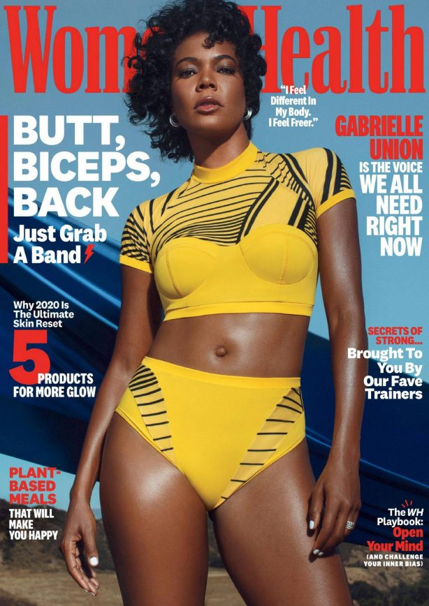 Gabrielle Union - Womens' Health Magazine - October 2020