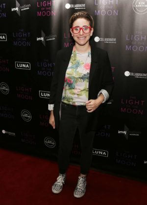 Gaby Dunn - 'The Light of the Moon' Premiere in Los Angeles