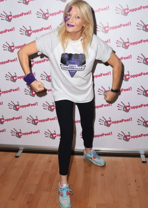 Gaby Roslin - 'CoppaFeel! Celebrity Boob Ball Tournament in London