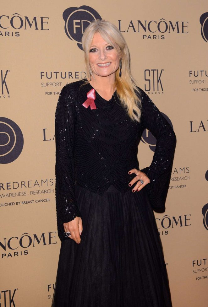 Gaby Roslin - Future Dreams Fundraising Charity Gala in London