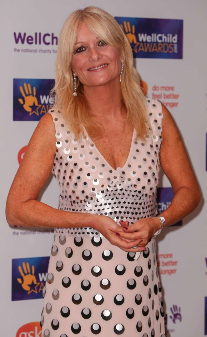 Gaby Roslin - WellChild Awards 2017 in London