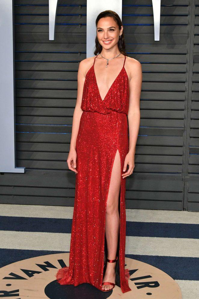 Gal Gadot: 2018 Vanity Fair Oscar Party -12