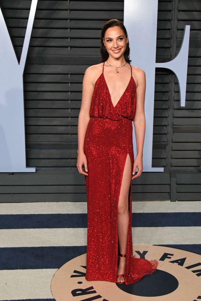 Gal Gadot: 2018 Vanity Fair Oscar Party -14