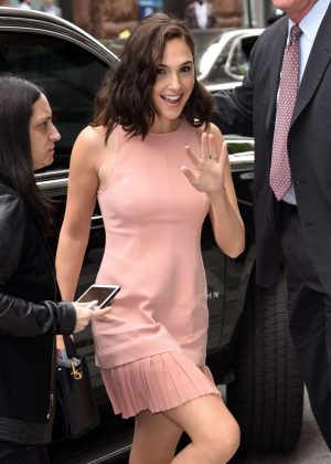 Gal Gadot Arriving at the ABC Studios in NYC