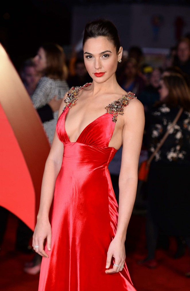 Gal Gadot - 'Batman V Superman: Dawn Of Justice' Premiere in London